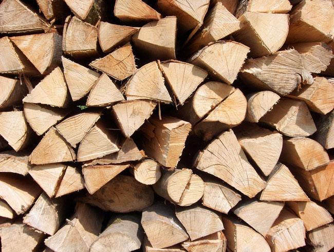 Einfach Brennholz online bestellen.